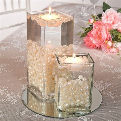 table centerpieces candles best 25 pearl centerpiece ideas on lace vase