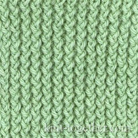 knit ribbing knit together corn rib with needles knitting patterns