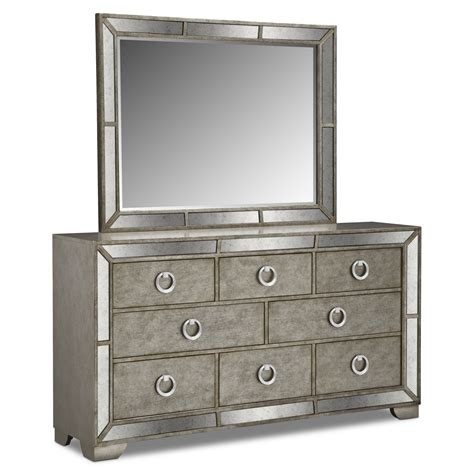 bedroom mirror furniture dresser mirror value city furniture