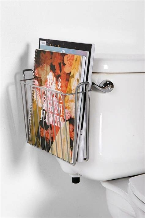 bathroom magazine storage hanging magazine storage rack bathroom ideas
