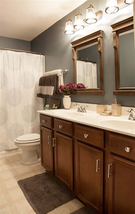 Bathroom Makeover On A Budget by Bathroom Makeover On A Budget The Home Depot