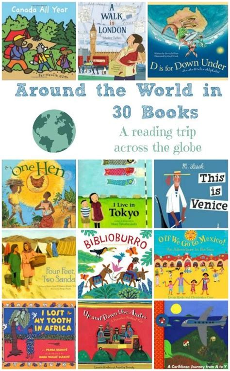 picture books about culture around the world in 30 books a trip across the globe