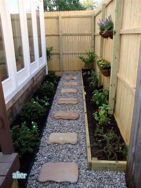 garden ideas for side of house landscaping the small space