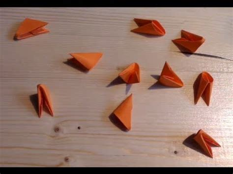 3d triangle origami how to make 3d origami triangle units