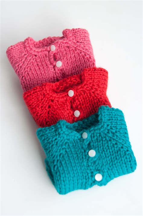 knitted waldorf doll pattern aesthetic nest knitting waldorf doll cardigans