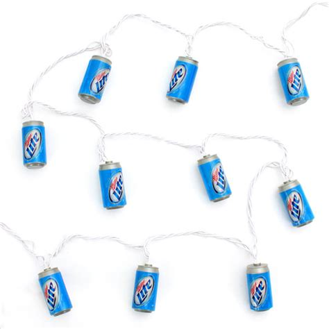 miller lite string lights