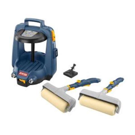home depot paint roller kit ryobi duet power paint tool system fpr200 the home depot