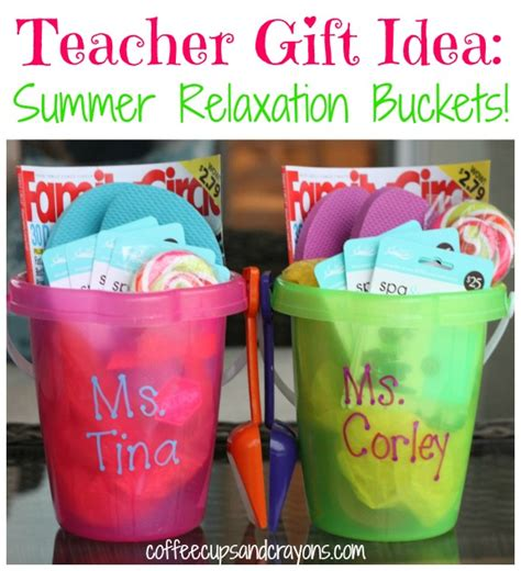 gifts teachers appreciation gift summer relaxation