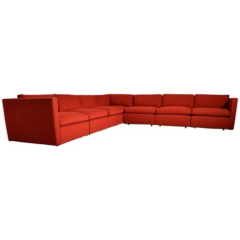 mid century sectional sofa mid century charles pfister for knoll modular sectional