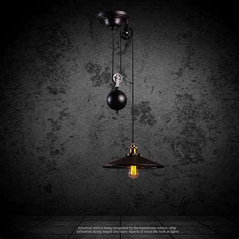 wrought iron pendant lights kitchen aliexpress buy kitchen rise fall pulley pendant