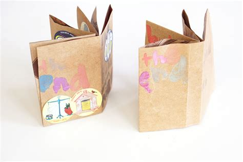 book paper crafts diy mini book crafts for pbs parents pbs