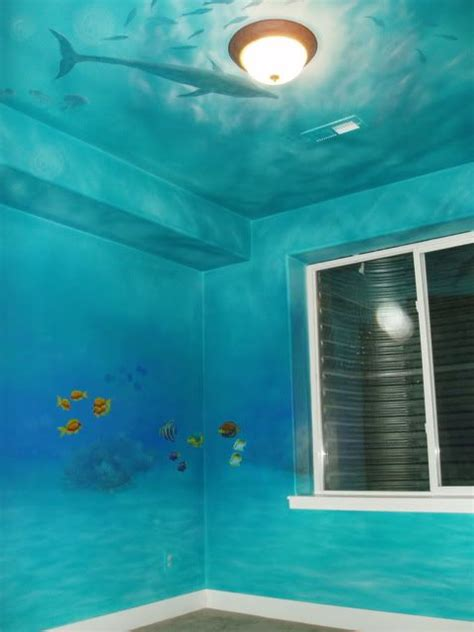 underwater themed bedroom best 25 underwater bedroom ideas on mermaid