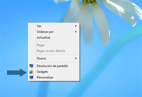 gadgets escritorio windows 8 como activar los gadgets del escritorio de windows 8