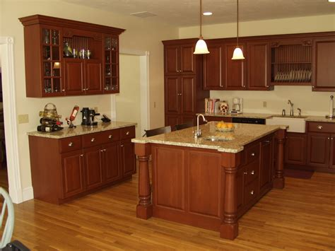 cherry kitchen cabinets with granite countertops kitchen cherry cabinets with granite countertops island