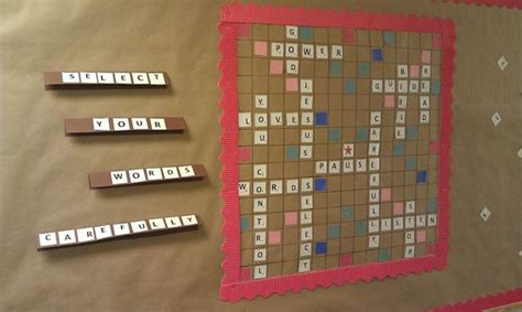 ia scrabble word church bulletin board idea scrabble