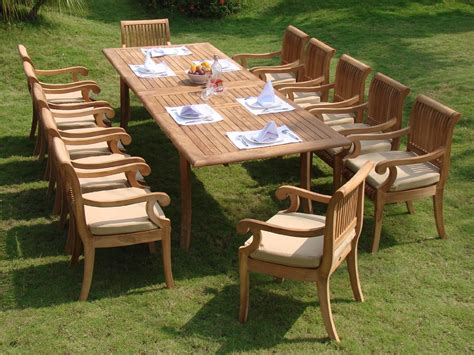 teak patio dining sets compare and choose reviewing the best teak outdoor dining