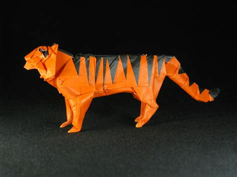 advanced origami tiger origami gallery