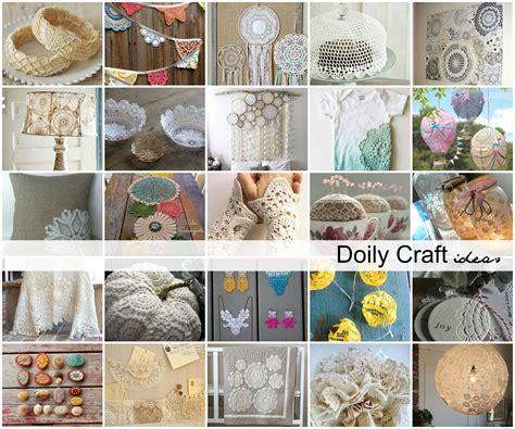 doily craft projects diy doily craft ideas the idea room