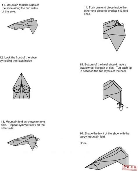 how to make origami shoes 1000 images about origami shoes dress on