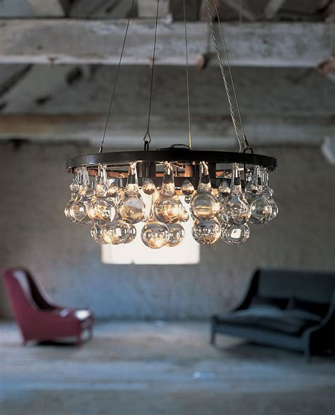 ochre arctic pear chandelier ochre contemporary furniture lighting and accessory