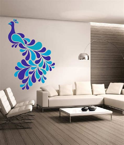 Wall Decor Stickers Online dream on walls decal colorful peacock wall stickers