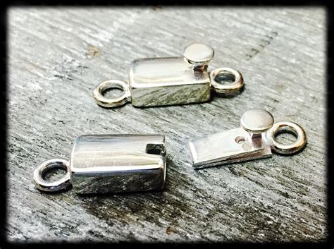 box clasps for jewelry reserve sterling silver box clasp push button rectangular box