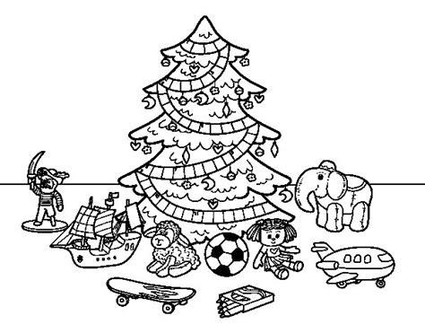 dibujos arboles navidad dibujo de 193 rbol de navidad y juguetes para colorear