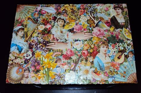 decoupage photo use your spare wallpaper strips to decoupage fashion wallpaper