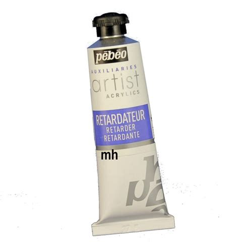 acrylic painting drying time pebeo retarder 37ml drying time of acrylic