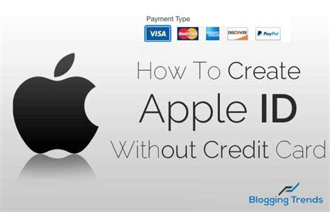 make a apple id without a credit card how to create an apple id without credit card