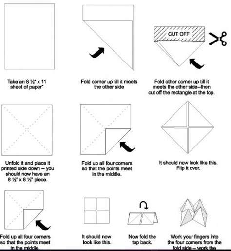 how to fold origami fortune teller best 25 paper fortune teller ideas on