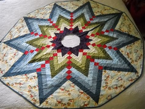 tree skirt quilt pattern the quilted post braid tree skirt