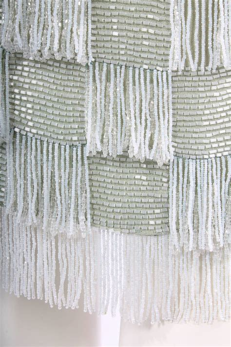 haute couture beading jean desses haute couture beaded silk dress circa 1956