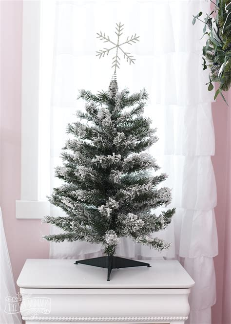 white flocked tree how to decorate a white flocked tree the diy
