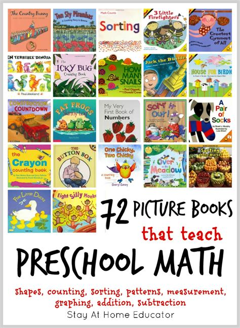 the picture book 72 of the absolute best math picture books for