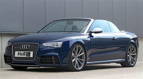 Bmw Drop Top by H R S Drop Top Bmw M4 And Audi Rs5