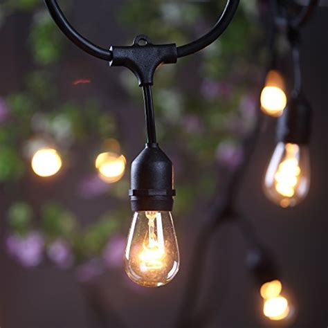 outdoor hanging string lights outdoor commercial string globe lights 24 with
