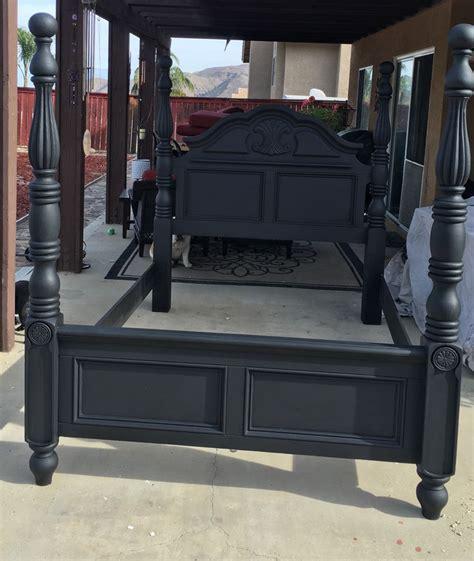 chalk paint furniture in black best 25 black chalk paint ideas on black