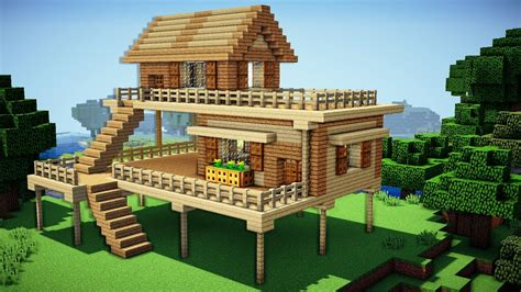 make your house a home minecraft starter house tutorial how to build a house
