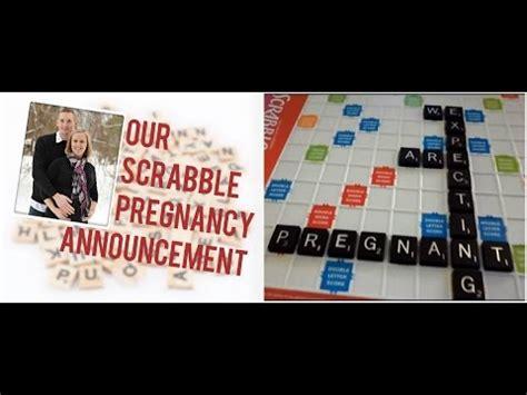 scrabble pregnancy announcement scrabble baby announcement pregnancy
