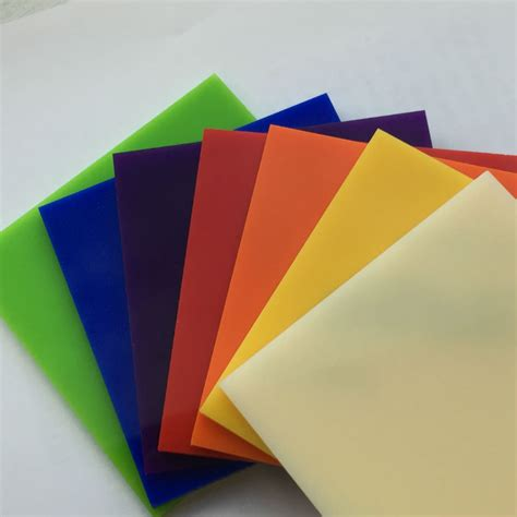 acrylic resin cut to size coloured acrylic perspex the plastic