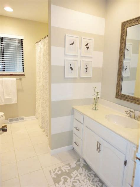 behr paint color pearl 25 best ideas about striped bathroom walls on