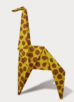 3d origami giraffe giraffe 2 easy origami for