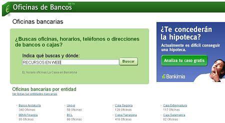 horarios de oficinas de la caixa oficinasdebancos oficinas tel 233 fonos y horarios de bancos