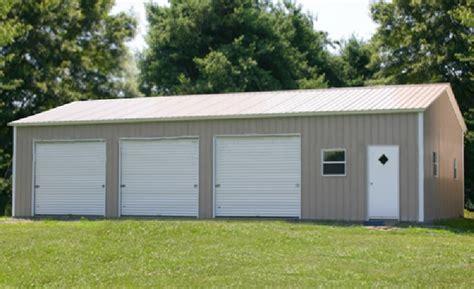 3 car garages steel buildings metal garages building kits prefab prices