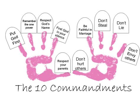 ten commandments crafts for search results for ten commandments crafts for