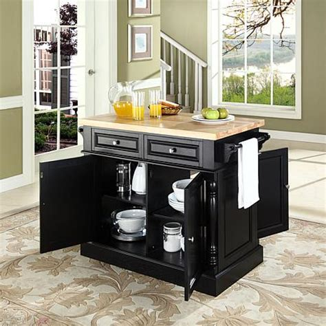 kitchen island block butcher block top kitchen island 10069256 hsn