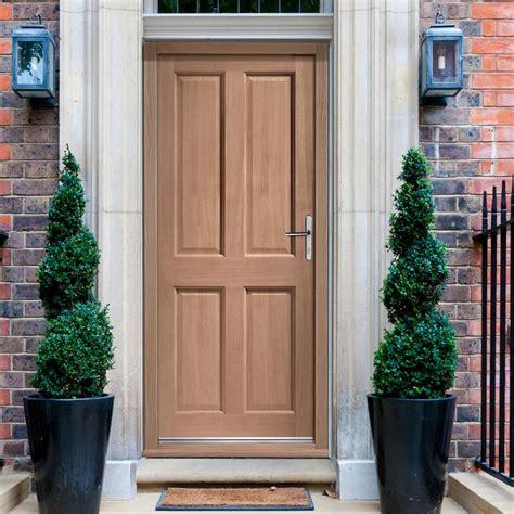 exterior panel doors colonial exterior 4 panel hardwood door