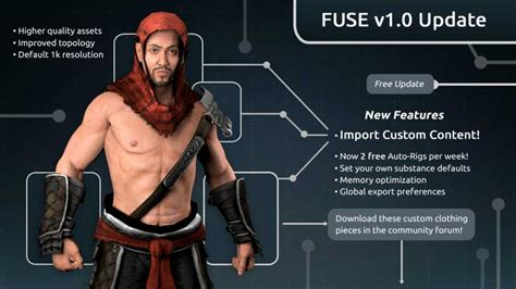pubg 1 0 update fuse character creator 1 0 update adds asset imports vg247