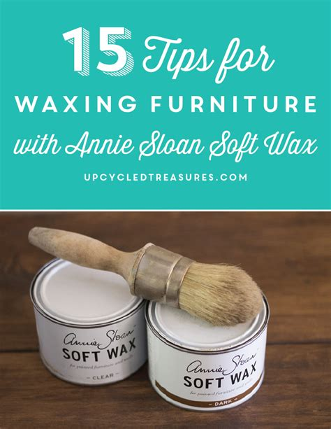 chalk paint wax tips tips for waxing furniture mountainmodernlife